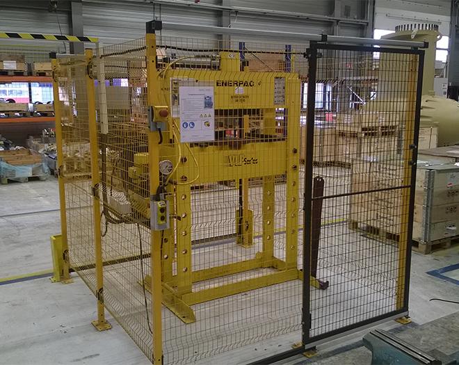 CE-ESTER - Machinebeveiliging - Machine Afscherming