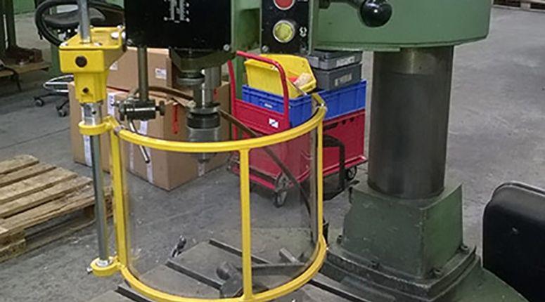 CE-ESTER - Beschermkap Kolomboormachine