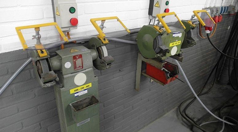 CE-ESTER - Beschermkap Slijpsteenmachine