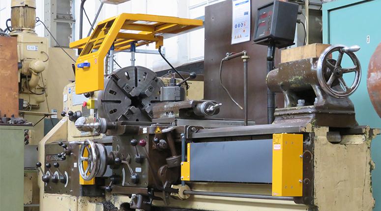 CE-ESTER - Beschermkap Draaibank - Veilige machines