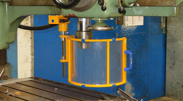 CE-ESTER - Beschermkap Kolomboormachine - Header