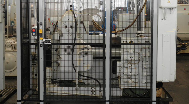 CE-ESTER -  Machine afscherming - Header